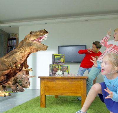 Δεινόσαυροι - Ηφαίστεια