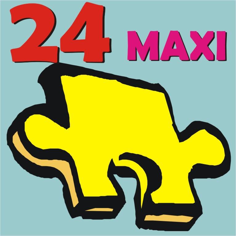 Puzzle Floor Maxi 24 Τεμ.