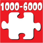 Puzzle 1000 - 6000 Τεμ.