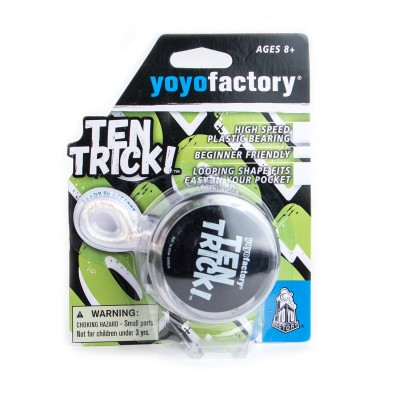 YOYO TEN TRICK clear/black