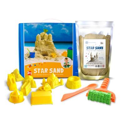 Σετ άμμος με καλούπια Deluxe JarMelo
